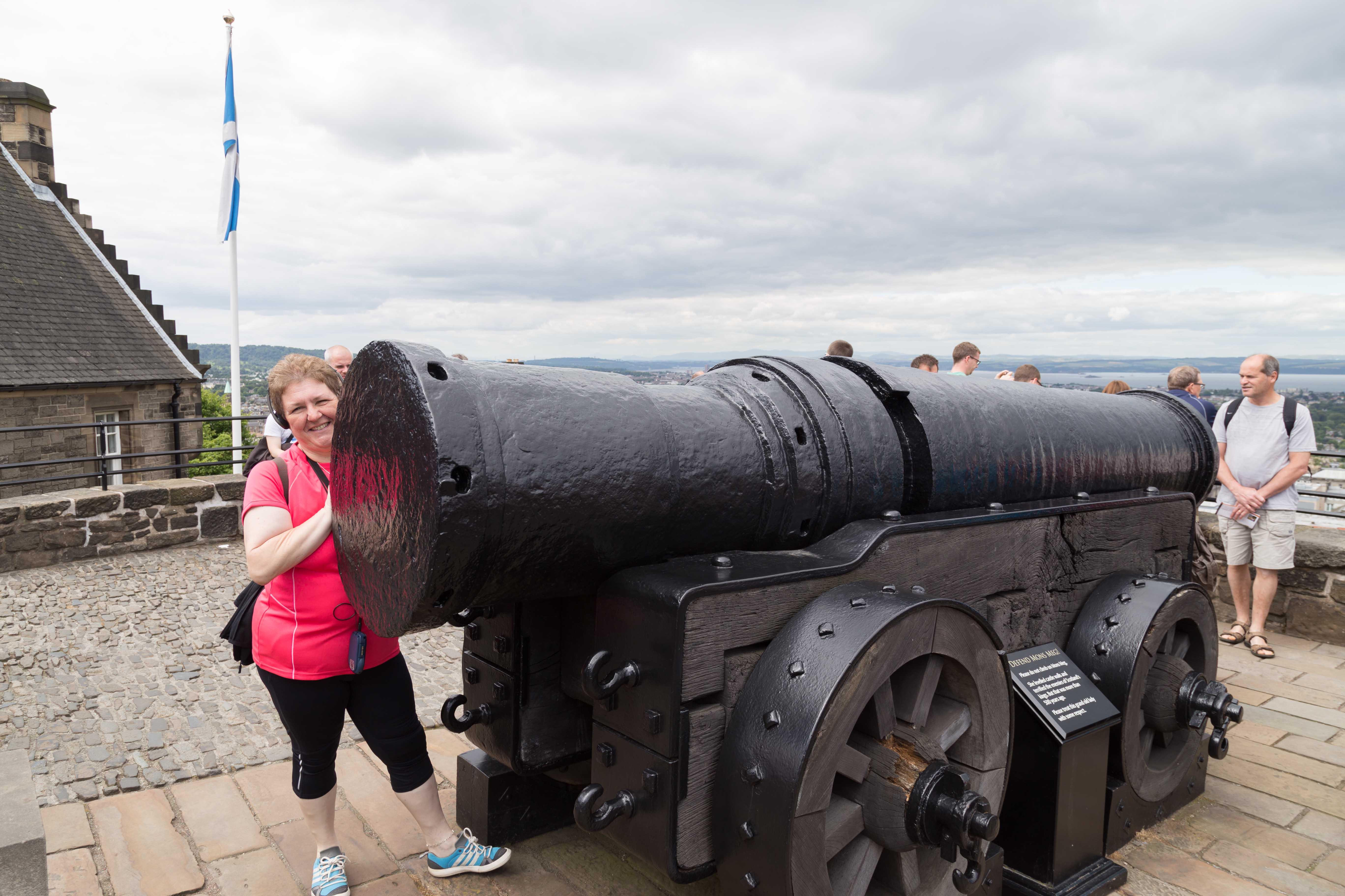 Mons Meg - eine ganz kleine Kanone