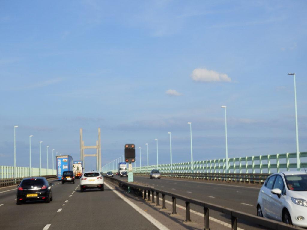 Brücke von Wales nach England